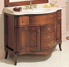 Зеленая мебель для ванной Cezares Тумба Rubino RU02/C.