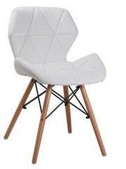 Кухонный стул Atreve Eliot (белый/бук)