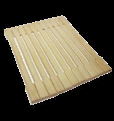 Аксессуар для бани Банные штучки Коврик деревянный для бани арт. 32134
