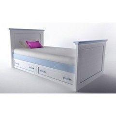 Детская кровать Детская кровать Аква Родос Вояж VgBED-90 (голубой)