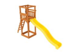 Anuka Детская горка Tower с пластиковым скатом