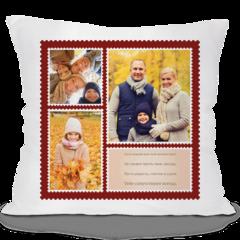Декоративная подушка Карандаш Почтовые марки 04158