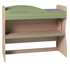 Двухъярусная кровать Глазовская мебельная фабрика Калейдоскоп 2 (фасад Лимон)