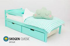 Детская кровать Детская кровать Бельмарко Skogen Classic мятный