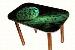 Обеденный стол Обеденный стол Мебельный конструктор Геометрия Модель 3