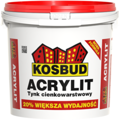 Штукатурка Штукатурка Kosbud Acrylit 25 кг короед