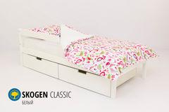 Детская кровать Детская кровать Бельмарко Skogen Classic белый