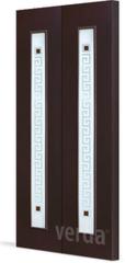 Межкомнатная дверь Межкомнатная дверь VERDA С-17 ДО (складная)