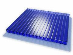 Светопрозрачная кровля Юг-Ойл-Пласт Синий 2100х6000х4 мм