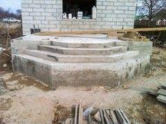 Лестница из бетона Монолит Пример 64
