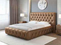 Кровать Кровать ОРМАТЕК Castello 160x200 (медный перламутр)