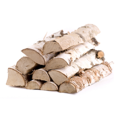 Топливо Дрова колотые ест. влажности (береза)