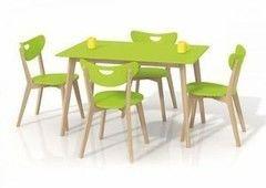 Обеденный стол Обеденный стол Halmar Lorrita (лайм)