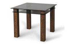 Обеденный стол Обеденный стол Artglass Tandem 90