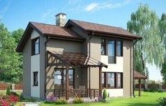 Каркасный дом Каркасный дом ИП Сопин А.В. Пример 5