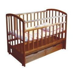 Детская кровать Кроватка Фея 313 Орех