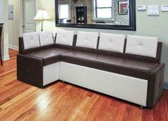 Кухонный уголок, диван  Кухонный диван Оскар (белый-венге)
