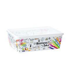 "Plastic Republic Лоток для мелочей 20х13.5х(h)6.5 см ""Business Idea"""