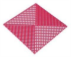 Альта-Профиль Универсальная решетка с дополнительным обрамлением розовая