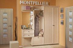 Прихожая Глазовская мебельная фабрика Montpellier 01 модульная (дуб млечный)