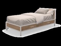Кровать Кровать MillWood Лофт КМ-2.1 \L