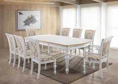 Обеденный стол Обеденный стол Avanti Opera (1800-2257x1067x760) Pearl White (жемчужно-белый)