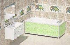 Экран под ванну Метакам Ультралегкий малахит 1680