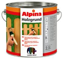Защитный состав Защитный состав Caparol Alpina Holzgrund