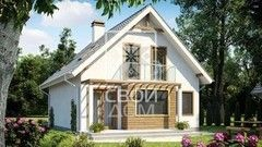 Свой Дом Проект двухэтажного дома 12