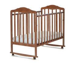 Детская кровать Кроватка СКВ-Компани Берёзка New арт. 120117 (орех)