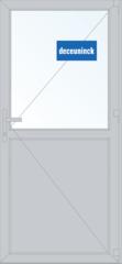 Дверь ПВХ Дверь ПВХ Deceuninck Фаворит Спэйс 900*2100 2К-СП одностворчатая Модель 1