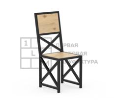 Кухонный стул 1Loft S-0002 (Сосновый щит)