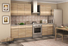Кухня Кухня Настоящая мебель Олеся дуб сонома
