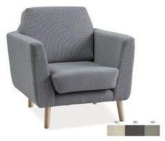 Кресло Кресло Signal Lester 1 (бук/ серый)