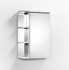 Мебель для ванной комнаты Акваль Зеркало Порто 55 см (L)