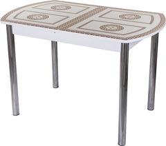 Обеденный стол Обеденный стол Домотека Гамма ПО (БЛ ст-71 02) 70x110(147)x75