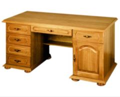 Письменный стол Гомельдрев ГМ 2303 (слоновая кость с патинированием)