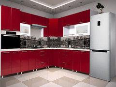 Кухня Кухня Интерлиния Валерия Экстра бордовый