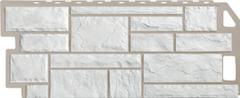 Фасадная панель FineBer Камень Natur (мелованный белый)