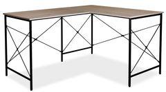 Письменный стол Signal B-182 (дуб/черный)