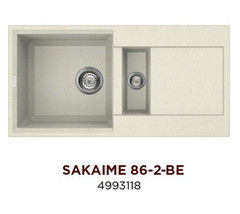 Мойка для кухни Мойка для кухни Omoikiri Sakaime 86-2-BE (4993118)
