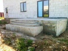 Лестница из бетона Монолит Пример 63