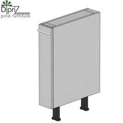Кухонный шкаф Кухонный шкаф Диприз Шкаф нижний с корзиной карго Д 9001-20