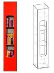 Детская комната Детская комната Глазовская мебельная фабрика Автобус-7 шкаф для книг