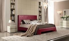 Кровать Кровать ZMF Герда (сп. место 180х200 см., бордо)