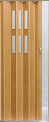 Межкомнатная дверь Дверь-гармошка Vivaldi Pioneer Glass (яблоня)