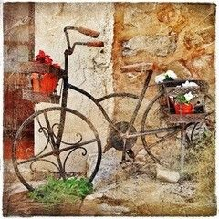 Фотообои Фотообои Vimala Ретро-велосипед
