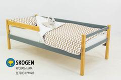 Детская кровать Детская кровать Бельмарко Skogen дерево-графит