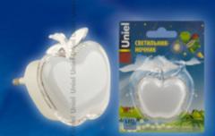 Детский светильник Uniel DTL-308-Яблоко/RGB/3LED/0,5W