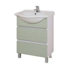 Зеленая мебель для ванной Onika Тумба Элита 60.13